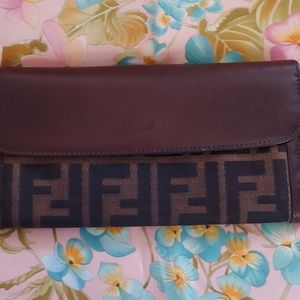 Authentic Fendi Wallet.
